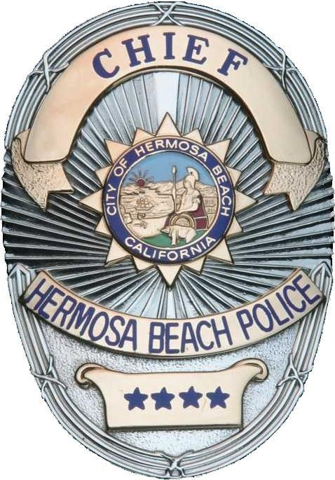 Hermosa Beach Police Chief Badge
