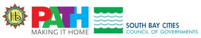 City of Hermosa Beach / PATH Making It Home / South Bay Cities Council of Governments logo