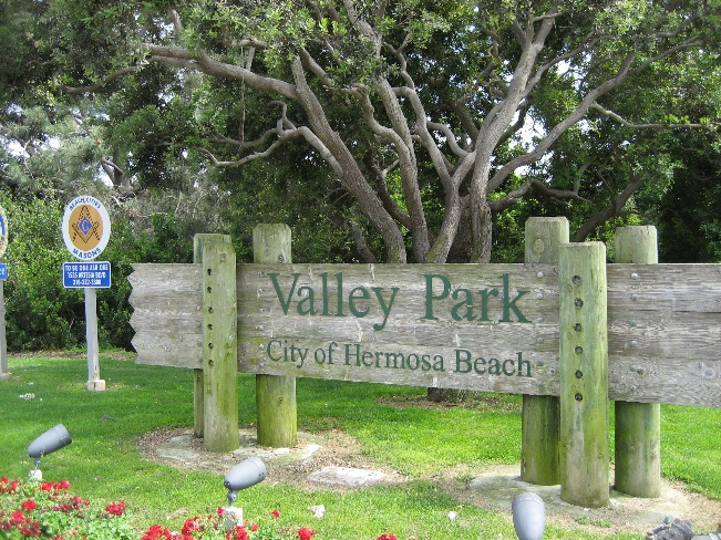 Valley Park Sign