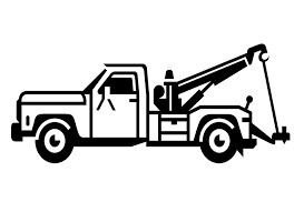Tow truck graphic