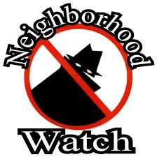 Neighborhood watch logo