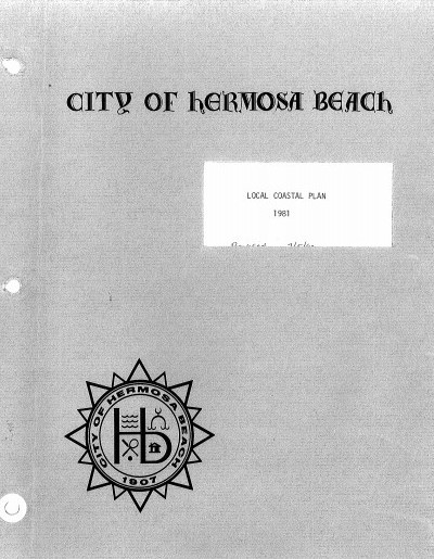 City of Hermosa Beach Local Coastal Plan - 1981
