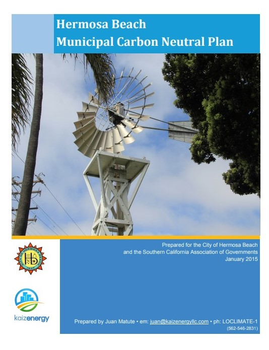 Hermosa Beach Municipal Carbon Neutral Plan - 2016