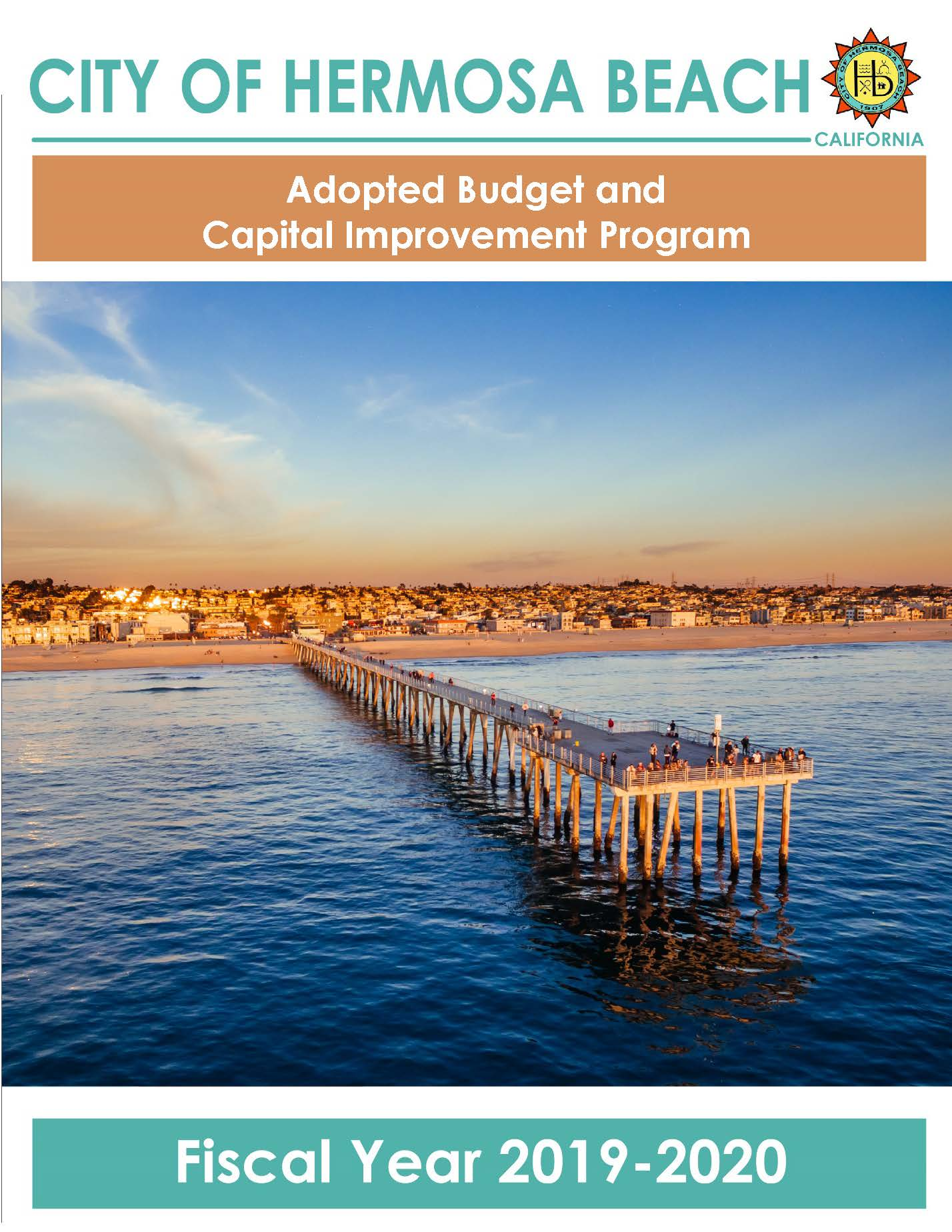 Adopted 2019-20 Budget Document Thumbnail