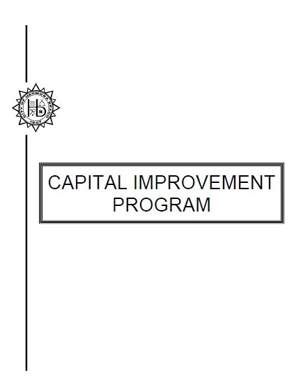 Capital Improvement Program cover