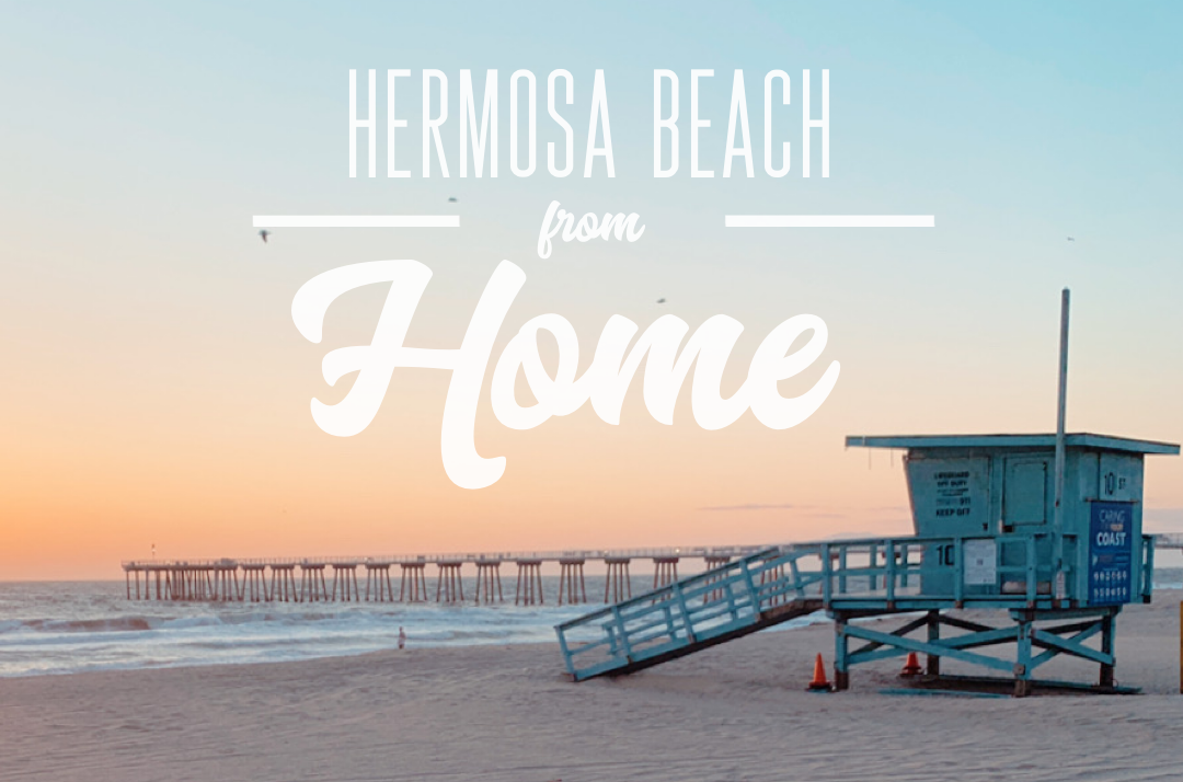 Hermosa Beach from Home Rectangle Graphic