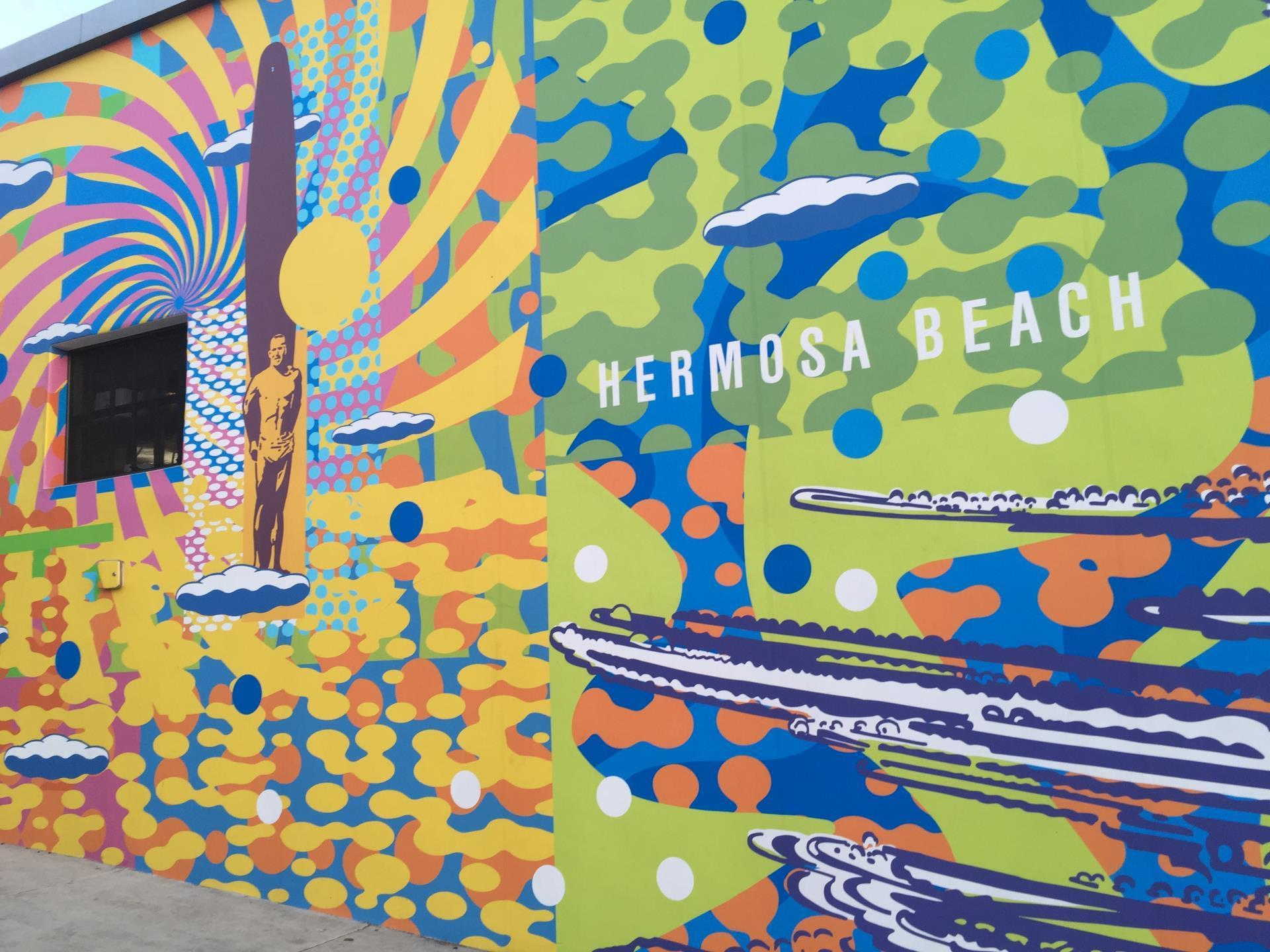 Hermosa's Greatest Wave Mural