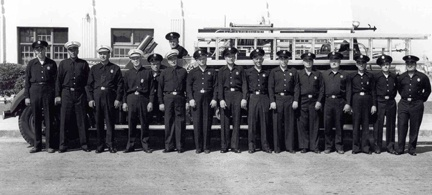 Hermosa Beach Fire Department - 1950 Crew