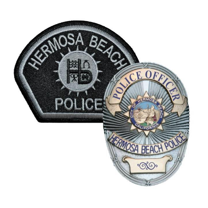 Police Patch and Badge